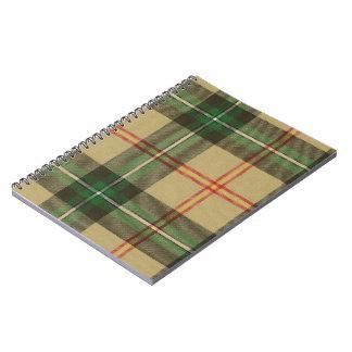 Saskatchewn Tartan Spiral Notebook