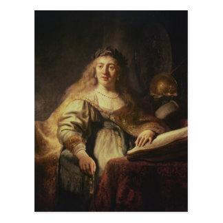 Saskia como Minerva Tarjetas Postales
