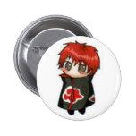 sasori anime 2 inch round button