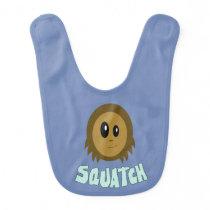Sasquatch Baby Bib
