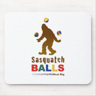 Sasquatch Balls Mouse Pad