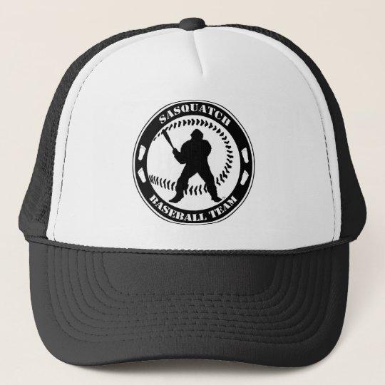 Sasquatch Baseball Team Trucker Hat