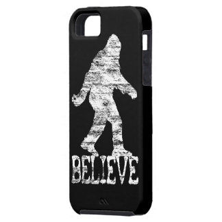 Sasquatch BELIEVE Distressed iPhone 5 Case