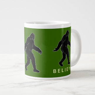 Sasquatch Believe Green Jumbo Mug
