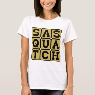 Sasquatch, Bigfoot Playera