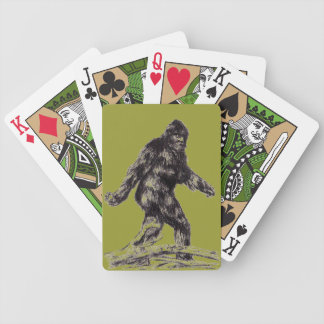"""Sasquatch"" ""Bigfoot"" playing cards"