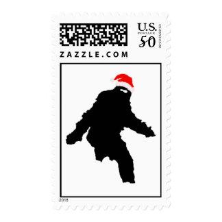 Sasquatch Claus Postage