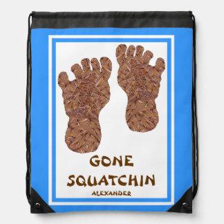 Sasquatch Cryptid Bigfoot Yeti Gone Squatchin Fun Backpack
