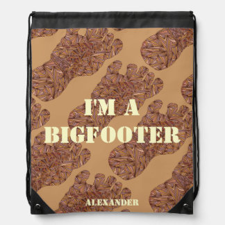 Sasquatch Cryptid I'm A Bigfooter Personalized Bag Backpack