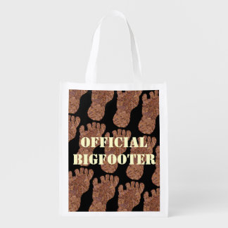Sasquatch Cryptid Official Bigfooter Eco Friendly Market Tote