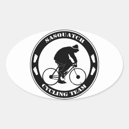 Sasquatch Cycling Team Stickers