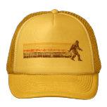 Sasquatch Distressed Vintage Retro Trucker Hat