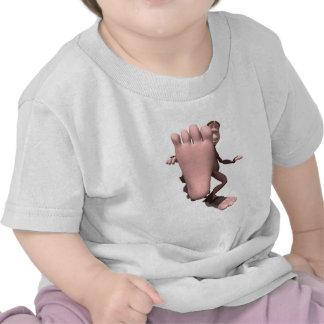 sasquatch divertido Bigfoot Camisetas