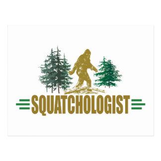 Sasquatch divertido, Bigfoot Tarjeta Postal