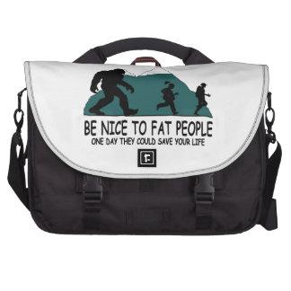 Sasquatch divertido bolsas de portatil