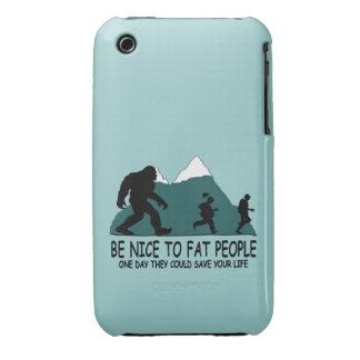 Sasquatch divertido Case-Mate iPhone 3 funda