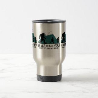 Sasquatch divertido tazas de café