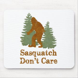 Sasquatch Don't Care Mouse Pad