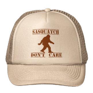 SASQUATCH DON'T CARE Trucker Hat