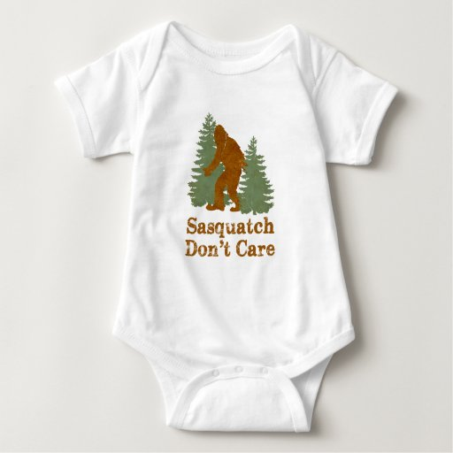 Sasquatch Don't Care Tshirt