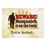 Sasquatch en el flojo comunicados personalizados