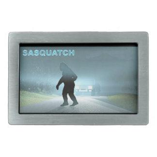 Sasquatch Encounter Belt Buckle