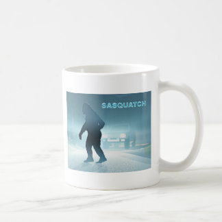 Sasquatch Encounter Classic White Coffee Mug