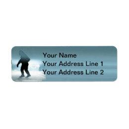 Sasquatch Encounter Label