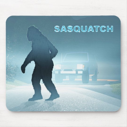 Sasquatch Encounter Mouse Pad