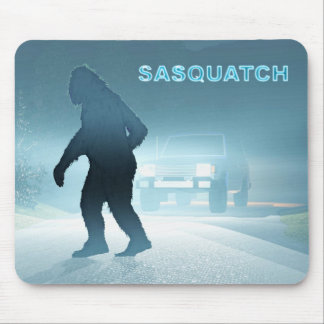 Sasquatch Encounter Mouse Pad