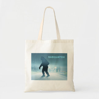 Sasquatch Encounter Tote Bag