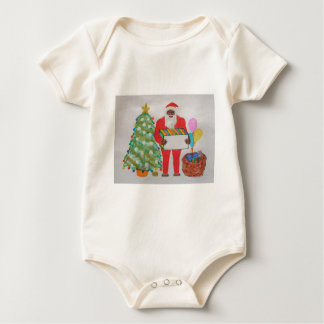 Sasquatch Father Christmas,.JPG Baby Bodysuit