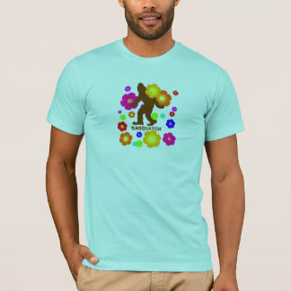 Sasquatch Flowers T-Shirt