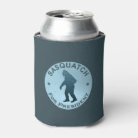 Sasquatch For President Can Cooler