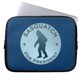 Sasquatch For President Computer Sleeve