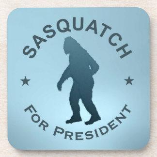 Sasquatch For President Beverage Coasters