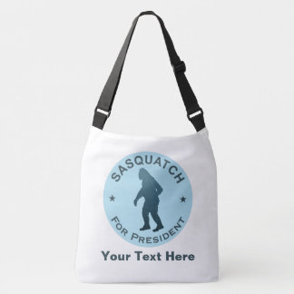 Sasquatch For President Crossbody Bag