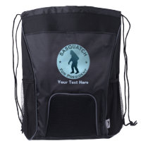 Sasquatch For President Drawstring Backpack