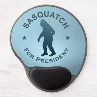 Sasquatch For President Gel Mouse Pad