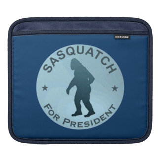 Sasquatch For President Sleeves For iPads