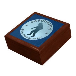 Sasquatch For President Jewelry Box