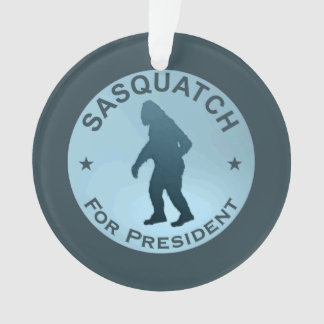 Sasquatch For President Ornament