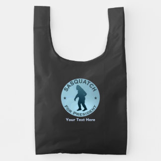Sasquatch For President Reusable Bag