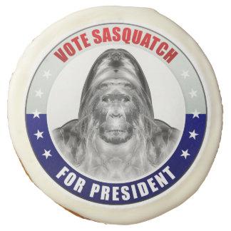 Sasquatch For President Sugar Cookie