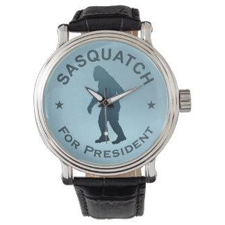 Sasquatch For President Wristwatches