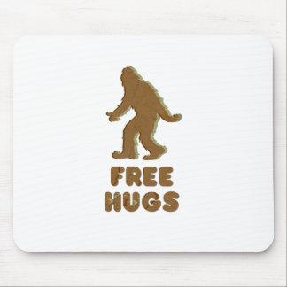 SASQUATCH - FREE HUGS MOUSE PAD