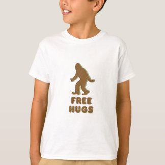 SASQUATCH - FREE HUGS T-Shirt
