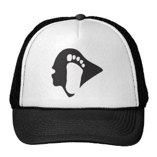 Sasquatch/gorra de Bigfoot Gorros Bordados