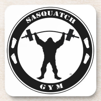 Sasquatch Gym Beverage Coaster