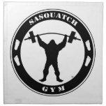 Sasquatch Gym Napkin